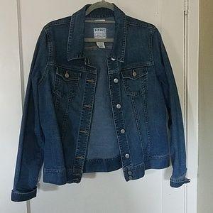 Old Navy stretch jean jacket x large